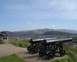 The beheading hill at Stirling